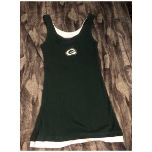 Like New Large Green Bay Packers Tank.